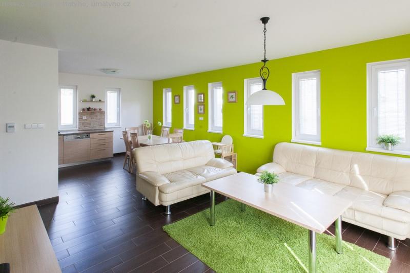 Objekt B - obývací pokoj