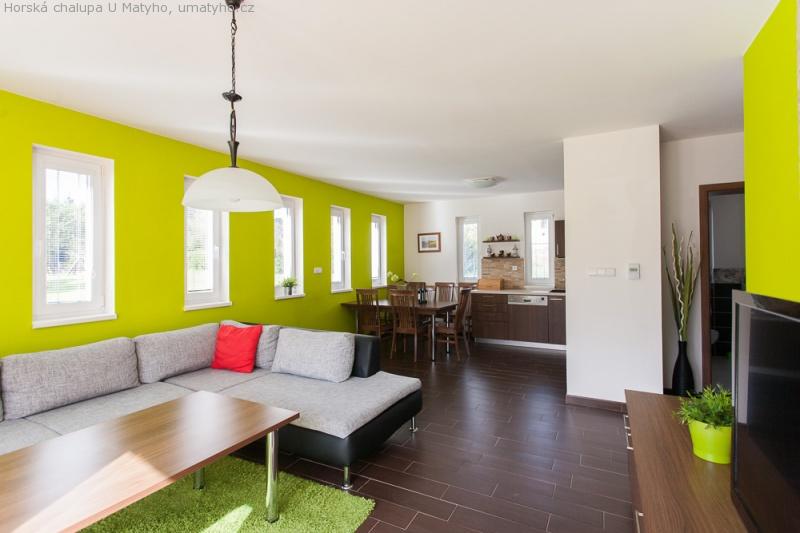 Objekt A - obývací pokoj