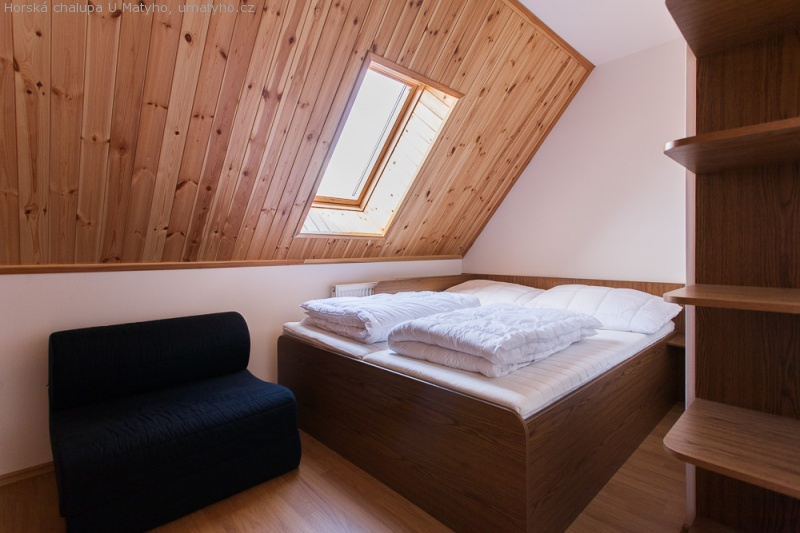 Objekt A - dvoulůžkový pokoj