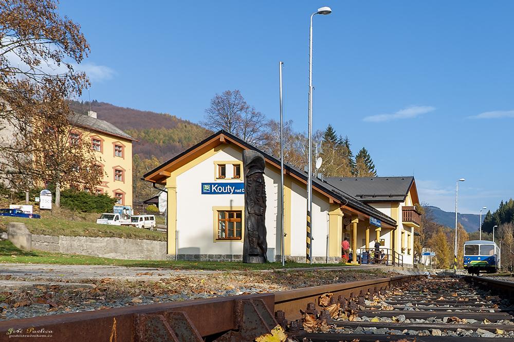 Železniční stanice Kouty nad Desnou